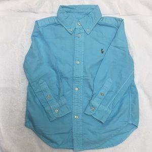 NWOT Blue Ralph Lauren Button Down Shirt